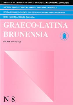 Graeco-Latina brunensia N8