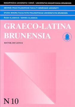 Graeco-Latina brunensia N10