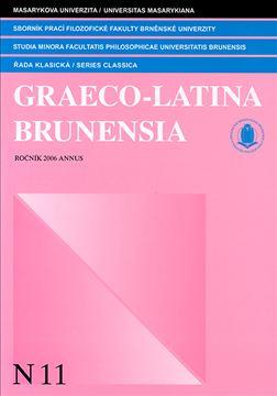 Graeco-Latina brunensia N11