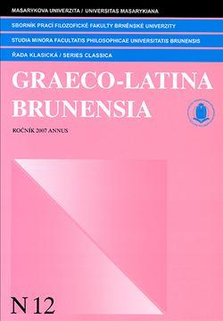 Graeco-Latina brunensia N12