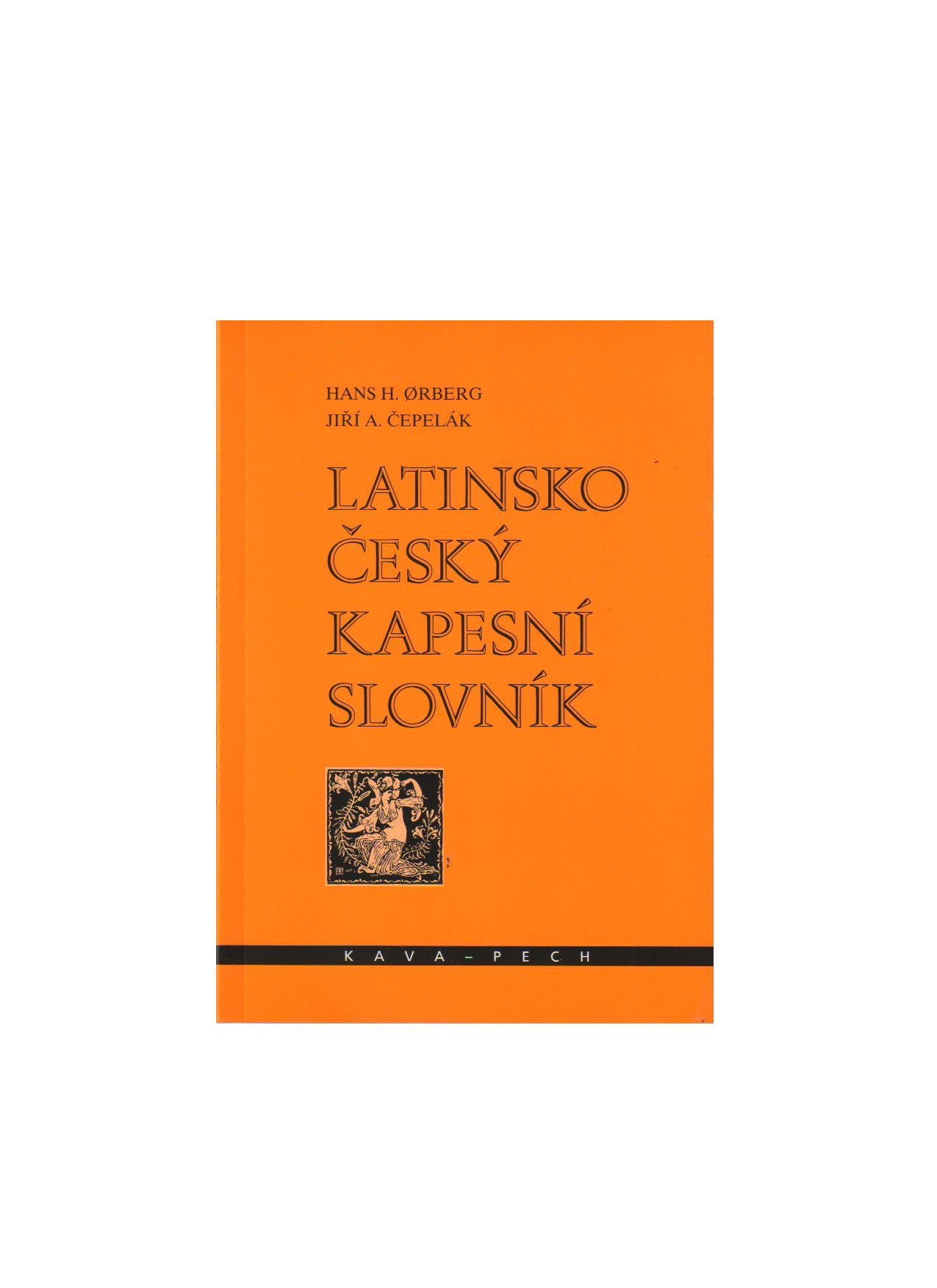 Fotografie Latinsko-český kapesní slovník